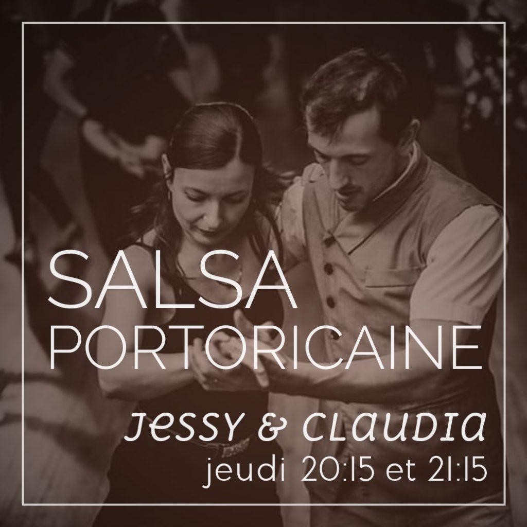 Jessy et Claudia - Salsa Portoricaine le jeudi de 20:15 à 22:15