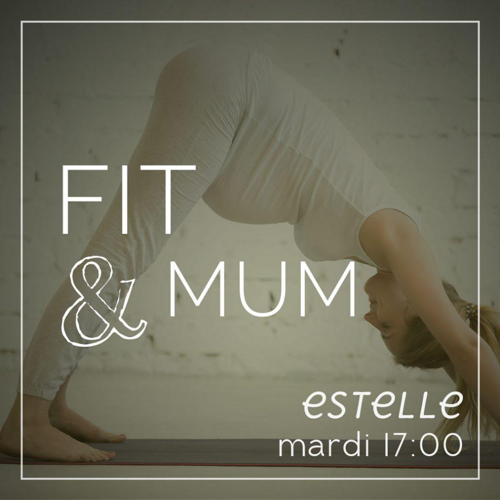 Fit&Mum cours de pilates dynamique, renforcement musculaire pour jeune mamans