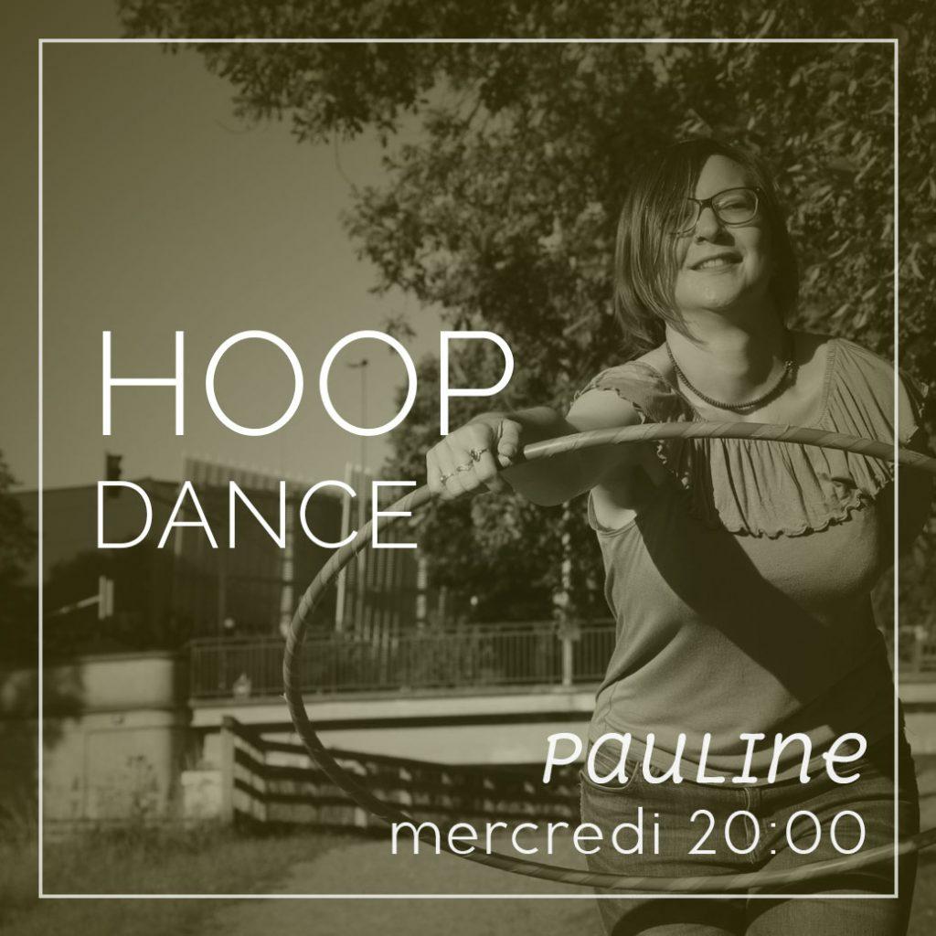Cours de Hula Hoop, le mercredi à 20h avec Pauline
