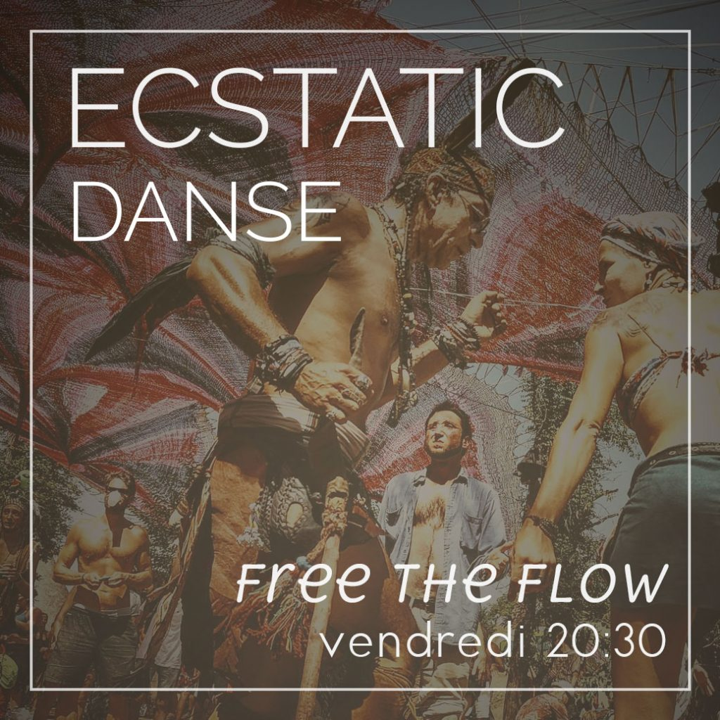 Danse Libre - Extatic Dance le vendredi à 20h30